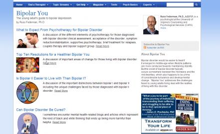 Psychology Today Blog